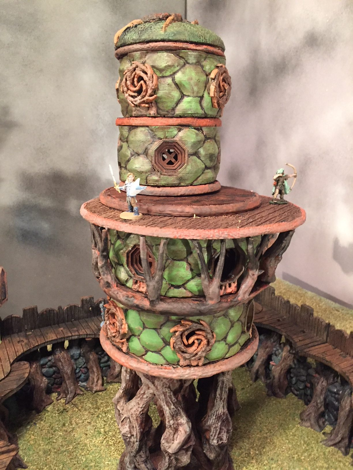 Great terrain for warhammer fantasy setting