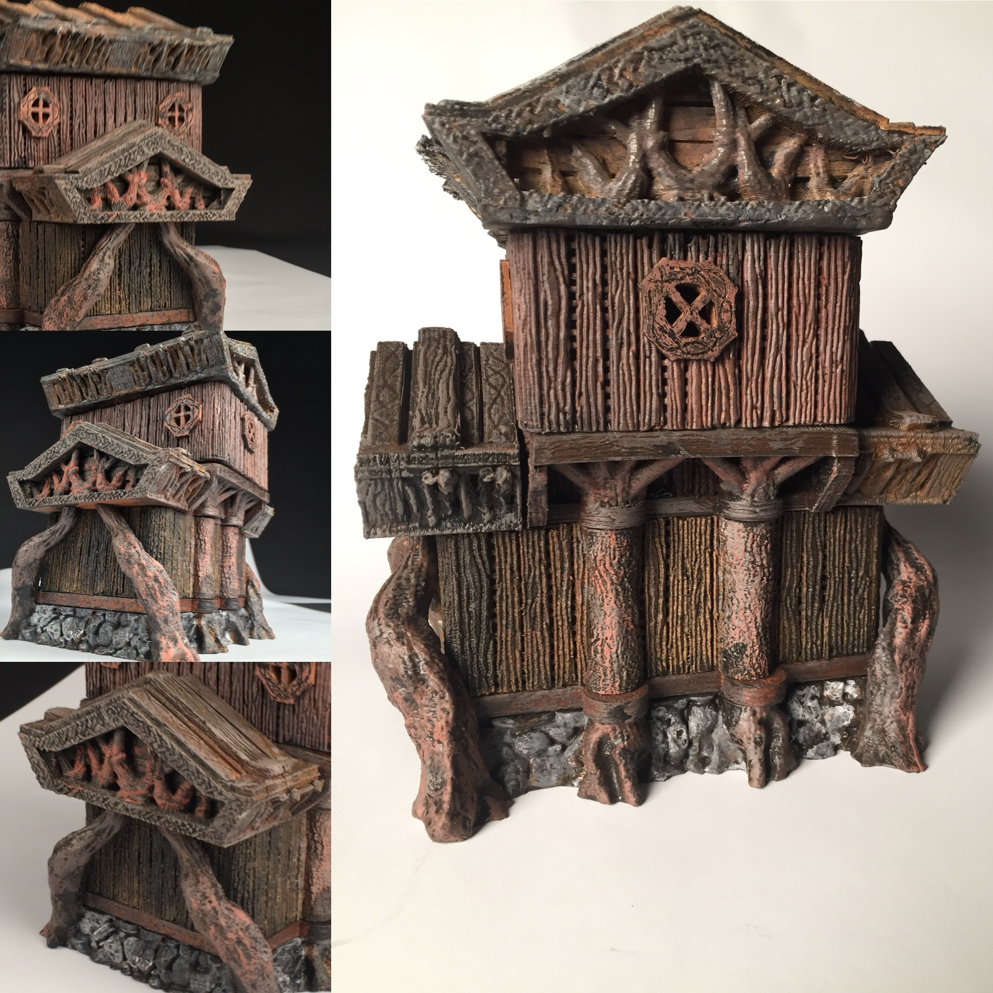 Elf Building 28mm Miniature