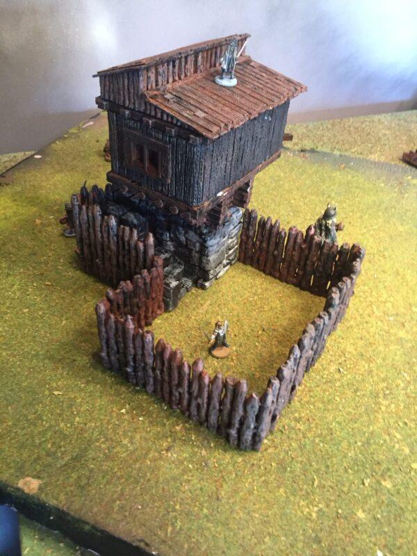 3D Printable Fort Hunting Lodge