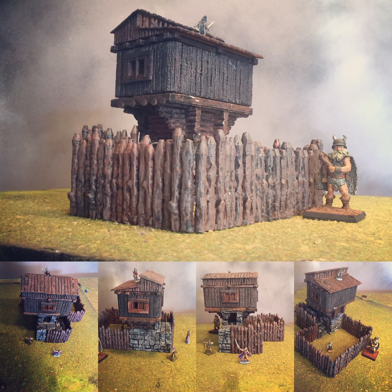 Free Hunting Lodge for 3D Printing | GameScape3D