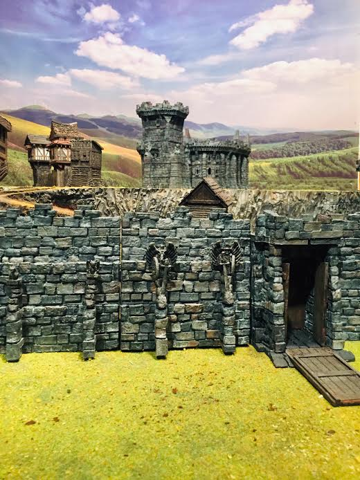 3D Printed Castle and Fortress Walls