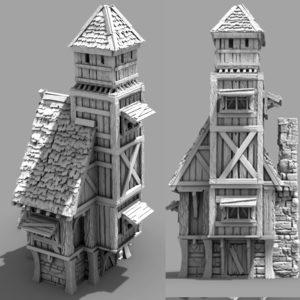 3D Printable Town