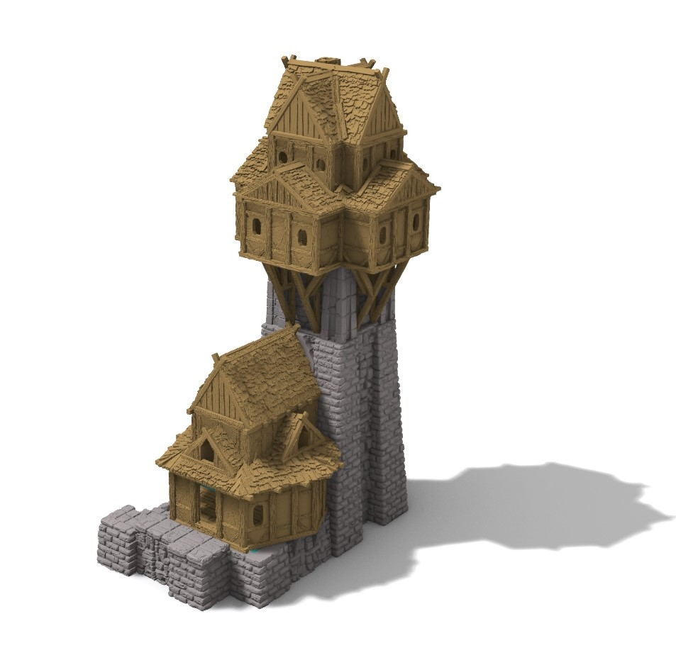 3d printed tower