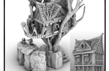 3d printed tree house