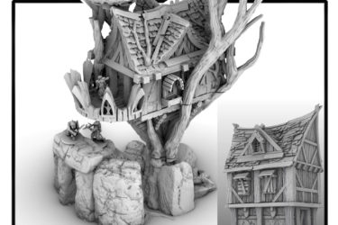 3d printed tree house