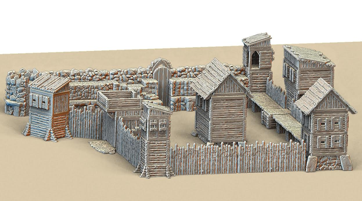 Pallisade Timber Fort