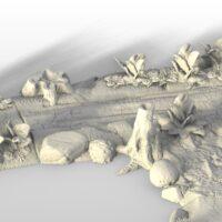 3D Printable Dirt Road