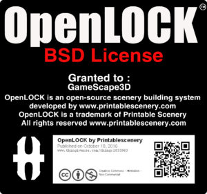 OpenLOCK Gamescape3d