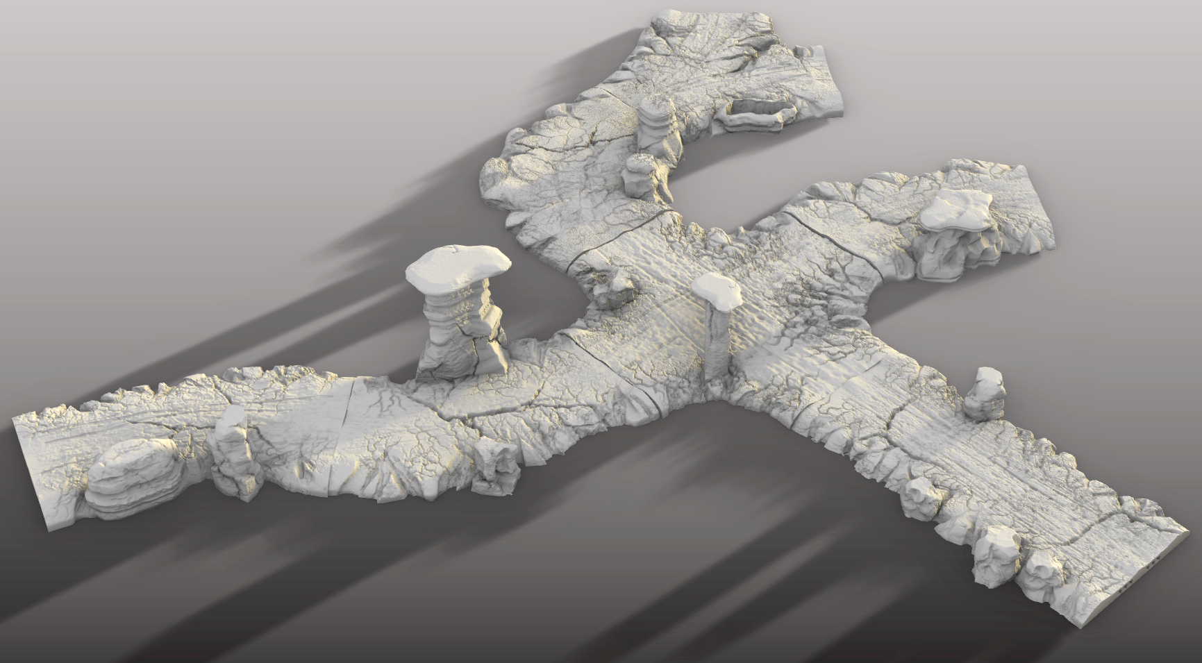 3d printable dirt roads