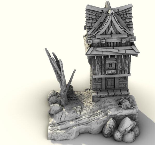 3d printable stl building