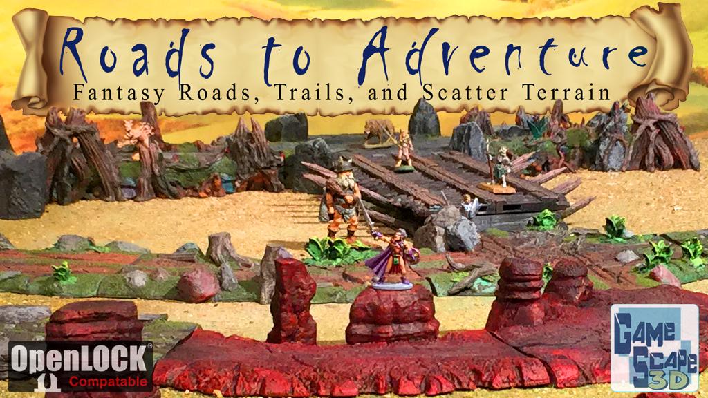 3d printable roads