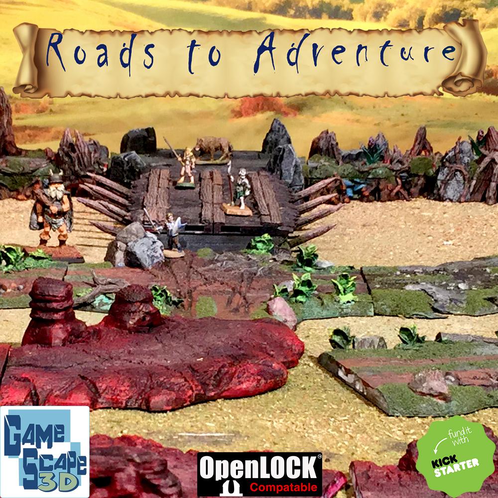 3d printable fantasy roads