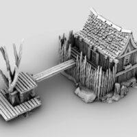 3d printable swamp dock