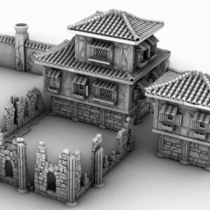 3d printed terracotta house