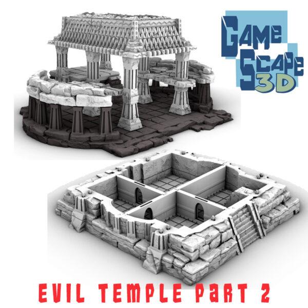 3d printed evil temple